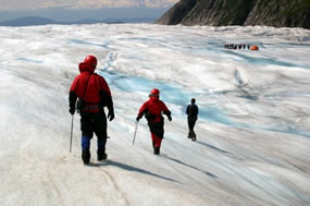 glacier adventure travel photo